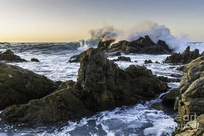 Photograph - Ocean Waves 1 by Richard Mason