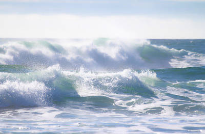 Photograph - Ocean Waves Crashing by Athena Mckinzie