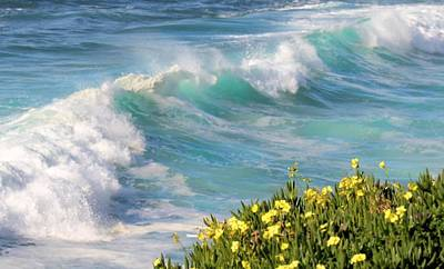 Photograph - Ocean Waves by Jane Girardot