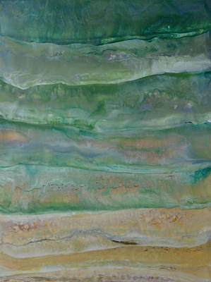 Painting - Ocean Waves by Jennifer  Creech