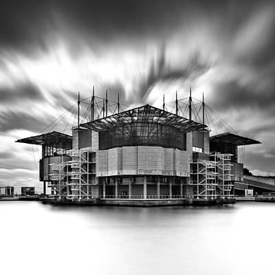 Sun Rays Photograph - Oceanarium by Jorge Maia