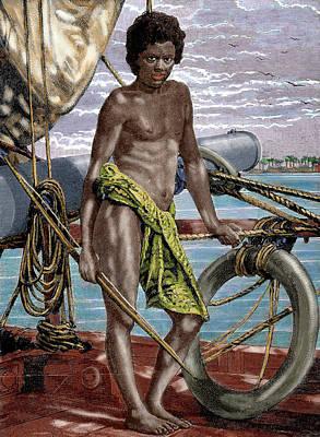 Oceania Micronesia Koror Native (palau Art Print