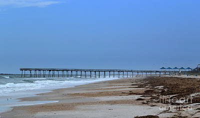 Beach Photograph - Oceanic Pier by Amy Lucid