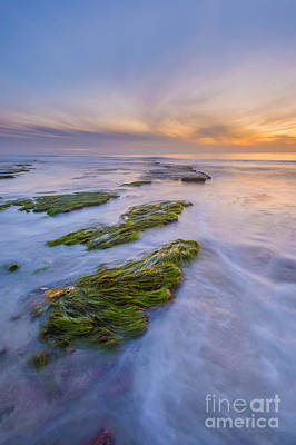 Cardiff State Beach Photograph - Oceano Tre by Alexander Kunz