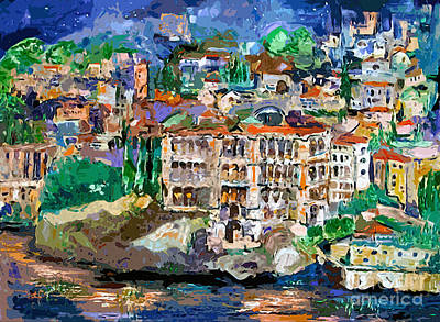 Painting - Oceanographic Museum Monaco by Ginette Callaway