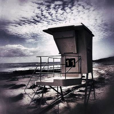 Iphone 4 Photograph - Oceans 11 by Mark David Gerson