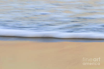Seafoam Abstract Photograph - Ocean's Edge by Katherine Gendreau