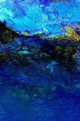 Oceans Edge Art Print by Michael Nowotny