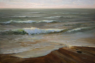 Painting - Ocean's Edge by Timon Sloane