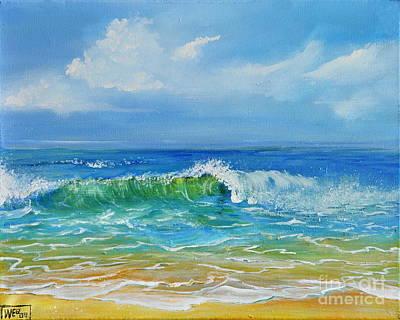 Painting - Oceanscape by Teresa Wegrzyn