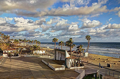 Cloud Photograph - Oceanside Amphitheater by Ann Patterson