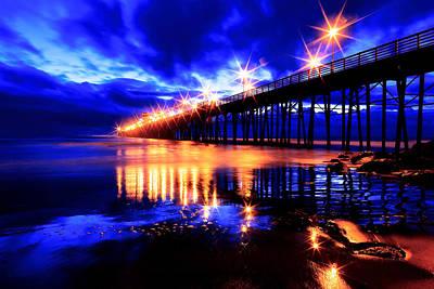 Photograph - Oceanside Pier 4 by Ben Graham