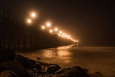 Photograph - Oceanside Pier by Dave Hall