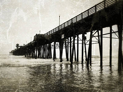 Photograph - Oceanside Pier by Glenn McCarthy Art and Photography