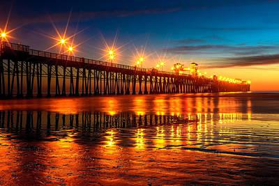 Photograph - Oceanside Pier 2 by Ben Graham