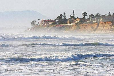 Art Print featuring the photograph Oceanside California by Tom Janca