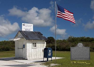 Photograph - Ochopee Post Office by R B Harper