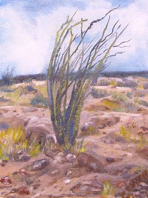 Painting - Ocotillo by Caroline Owen-Doar