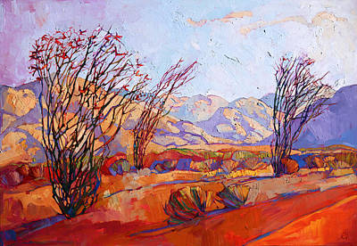 Painting - Ocotillo Jewel by Erin Hanson