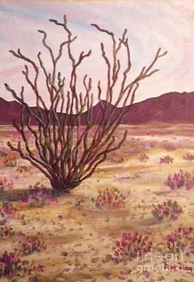 Painting - Ocotillo by Suzanne McKay