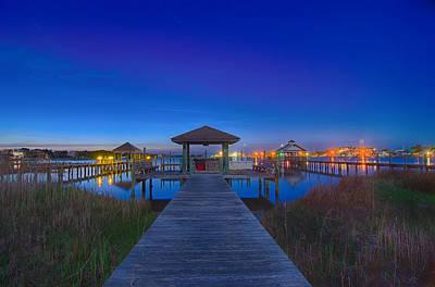 Photograph - Ocracoke Island At Night Scenery by Alex Grichenko