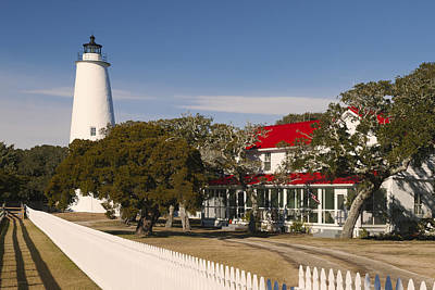 Photograph - Ocracoke Island Lighthouse Img 3529 by Greg Kluempers