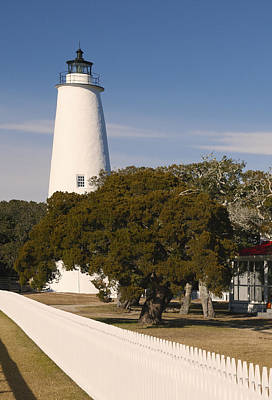 Photograph - Ocracoke Island Lighthouse Portrait Img3529 by Greg Kluempers