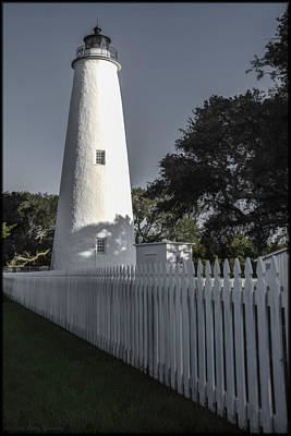 Photograph - Ocracoke Light by Erika Fawcett