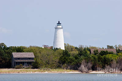 Photograph - Ocracoke Lighthouse by Jill Lang