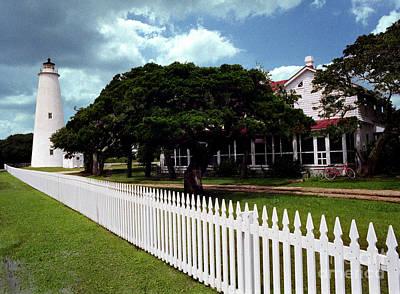 Photograph - Ocracoke Lighthouse by Tom Brickhouse
