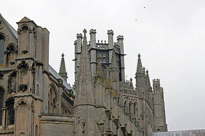 Photograph - Octagon Tower Ely Cathedral by Tony Murtagh