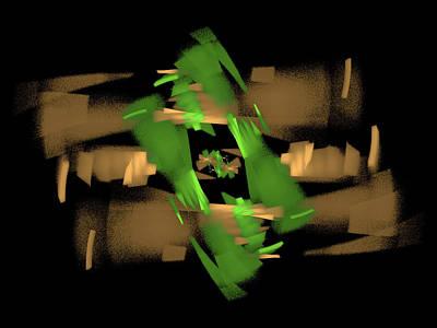 Digital Art - Octagon Tunnel by Richard J Cassato