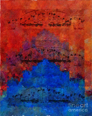 Digital Art - Octave Doublings by Lon Chaffin