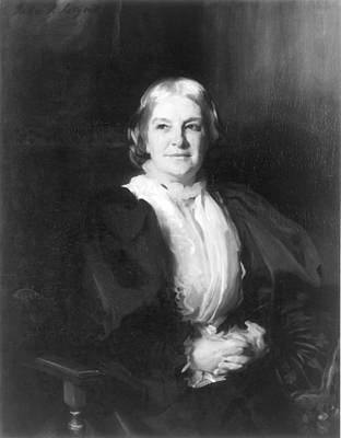 Octavia Painting - Octavia Hill (1838-1912) by Granger