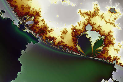 Abstract Graphics - Octic Byways No. 1 by Mark Eggleston