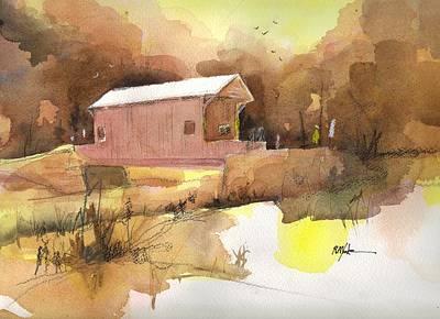 October 16th  Art Print by Robert Yonke