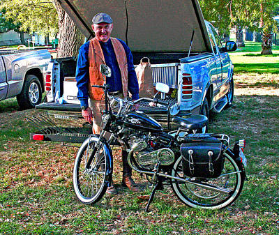 Photograph - October 2013 Delta Whizzer Rally by Joseph Coulombe