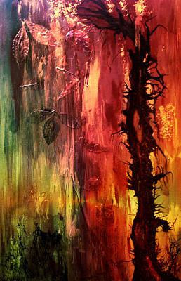 October Abstract Art Print by Patricia Motley