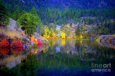 Photograph - October At Yellow Lake by Tara Turner