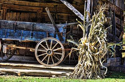 Photograph - October Barn by Jan Amiss Photography