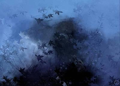 Autumn Landscape Digital Art - October Blues by Gun Legler