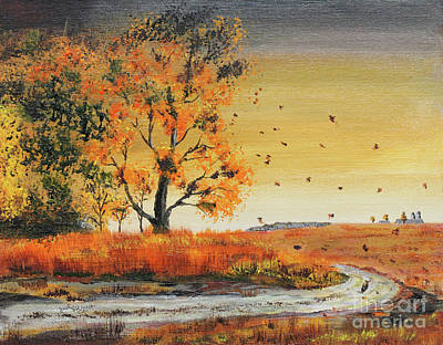 Painting - October Breezes by Jack G  Brauer