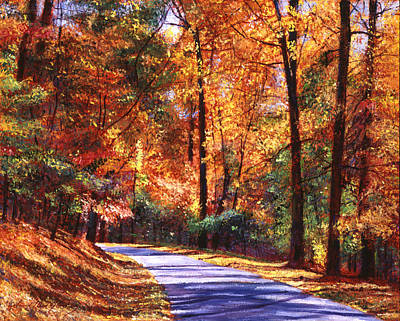 October Colors Art Print by David Lloyd Glover