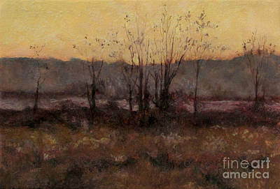 Painting - October Dusk by Gregory Arnett