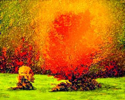Painting - October Flame by David Wiles