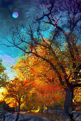 Photograph - October by Kat Besthorn