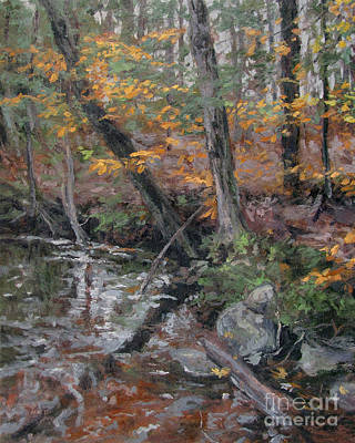 Painting - October Leaves by Gregory Arnett