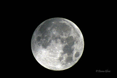 Photograph - October Moon by Deana Glenz