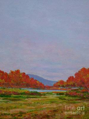 Painting - October Morning by Gail Kent