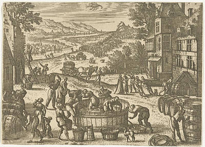 October, Pieter Van Der Borcht Art Print